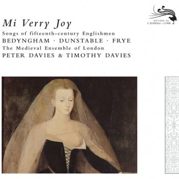 Johannes Bedyngham, The Medieval Ensemble Of London, Peter Davies & Timothy Davies Myn hertis lust